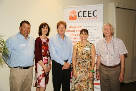 CEEC Directors: Mike Daniel, Sarah Boucaut (EO) Mike Battersby, Elizabeth Lewis-Gray, Tim Napier-Munn