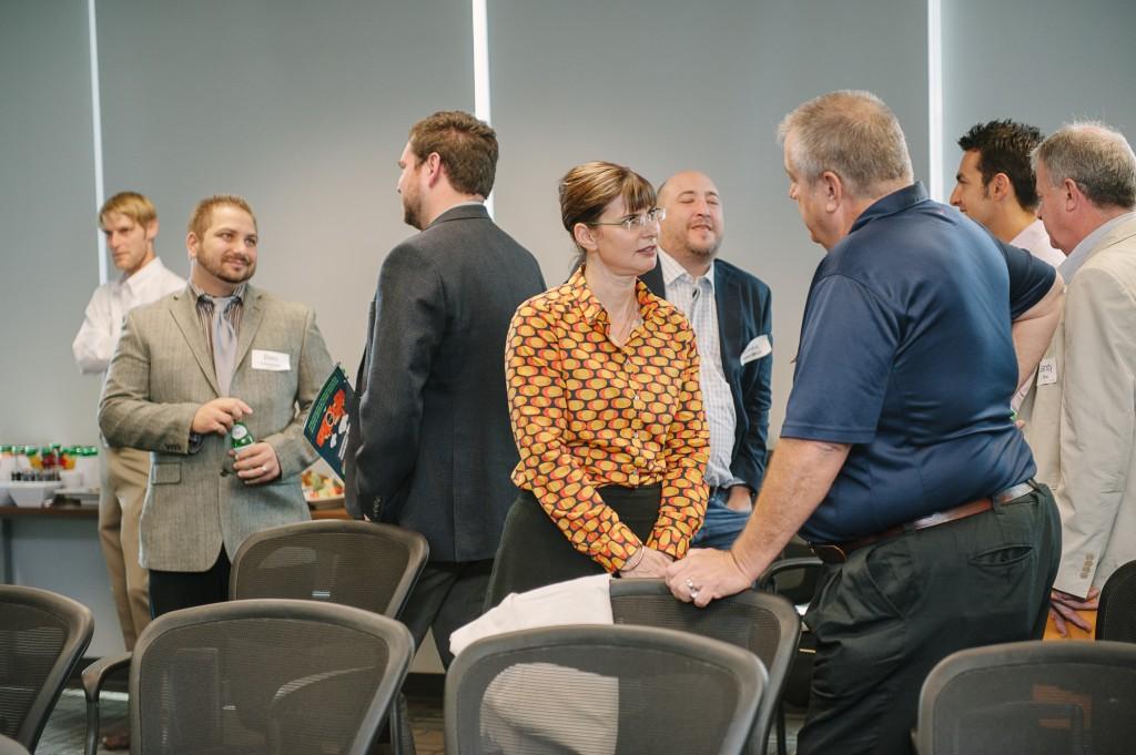 Elizabeth Lewis-Gray (CEEC Chair) with Edward Wipf, Weir Minerals