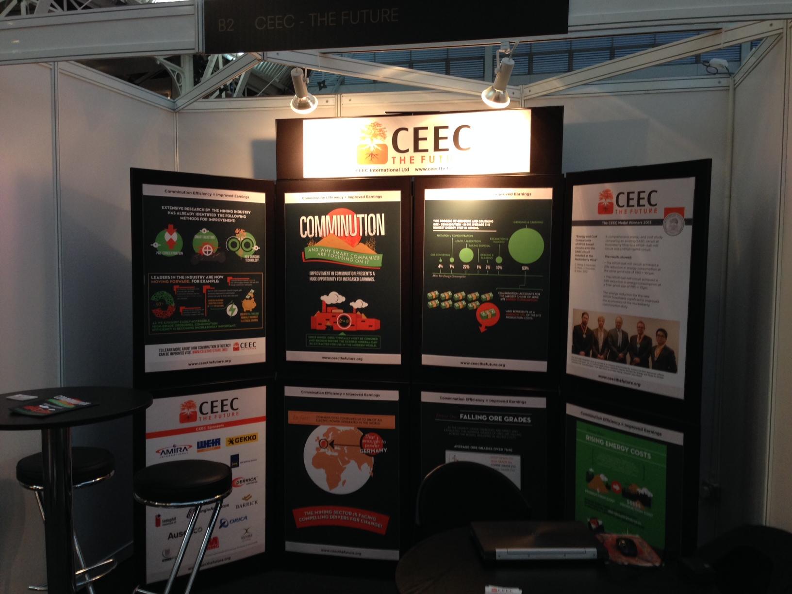 CEEC participates in Mines and Money London 2013 - CEEC (Coalition